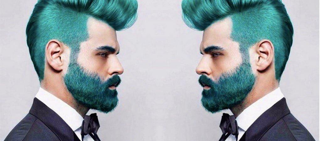 Foliculite: UMA NOVA MODA: Você usaria barba colorida? 1