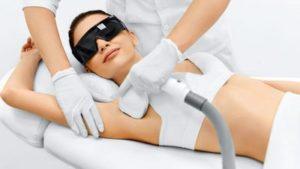 depilação a laser para foliculite