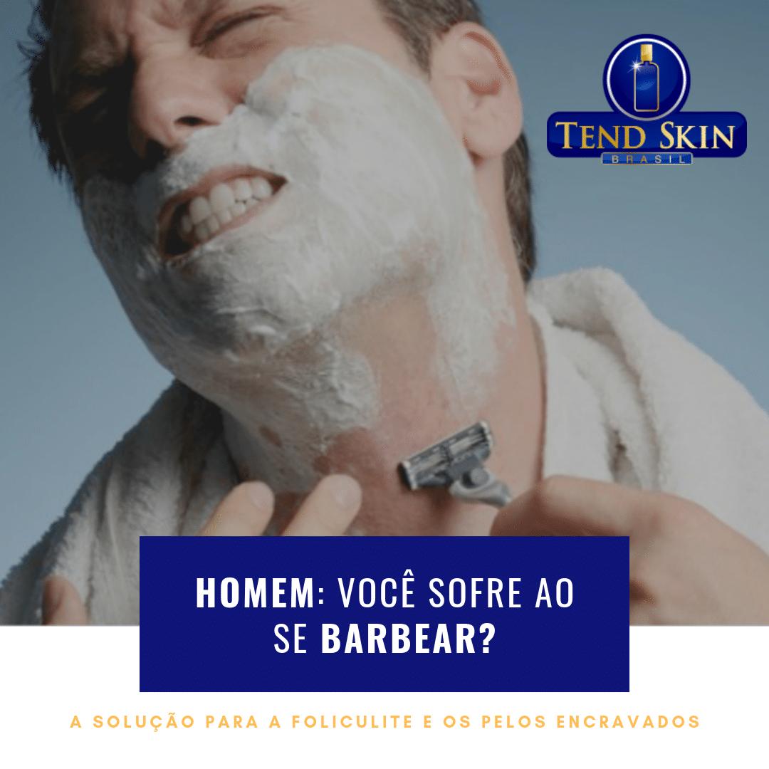 Foliculite: Homem: você sofre ao barbear? 1