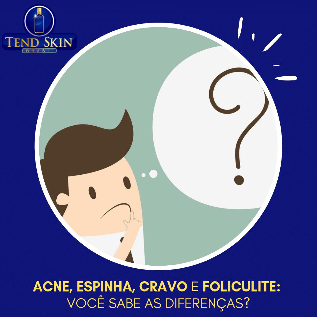 Foliculite: Acne, espinha, cravo e foliculite: você sabe as diferenças? 1