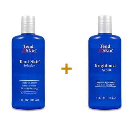 Foliculite: Kit Tend Skin Solution 118 ml + Brightoner Serum 118 ml 1