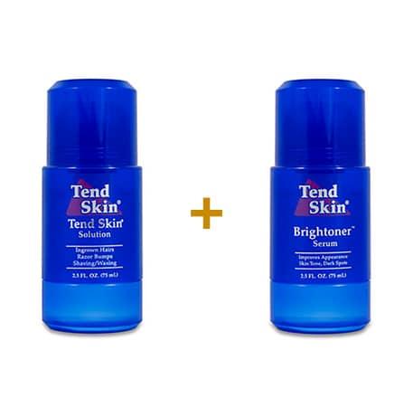 Foliculite: Kit Tend Skin Solution Roll-On + Brightoner Roll-On 15
