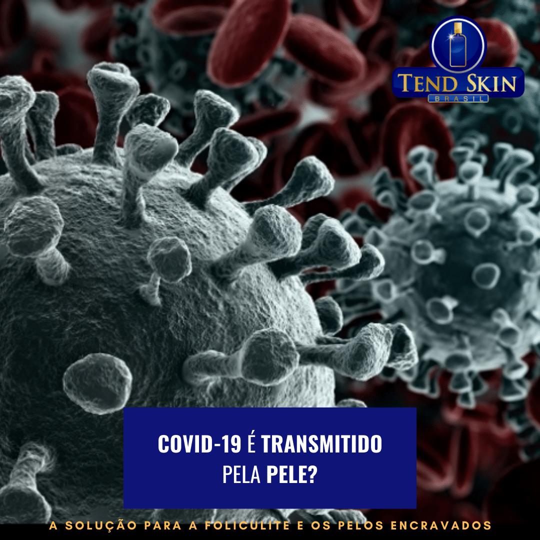 Foliculite: Covid-19 é transmitido pela pele? 1