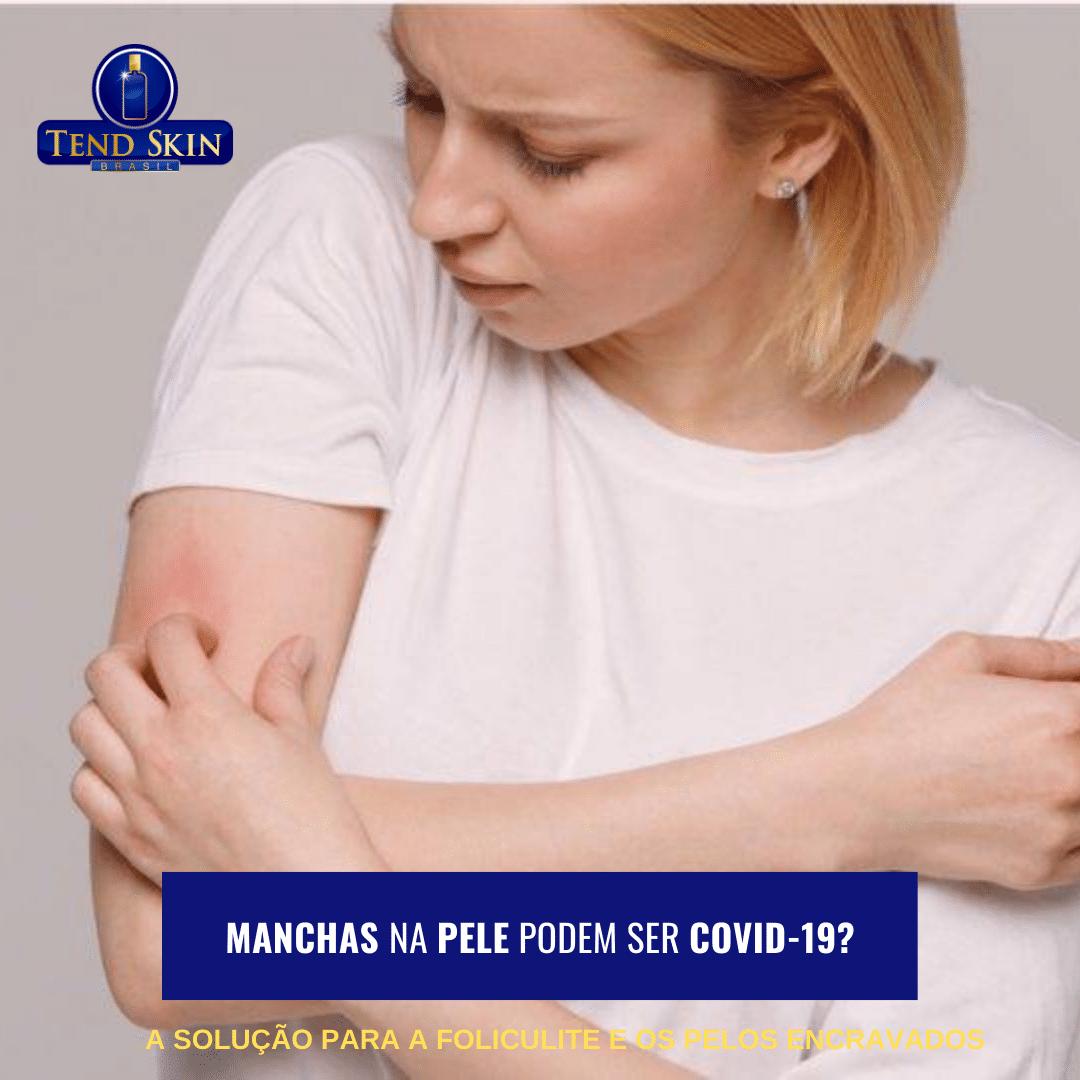 Foliculite: Manchas na pele podem ser Covid-19? 1